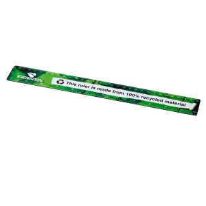 Recycled promotional products: ruler