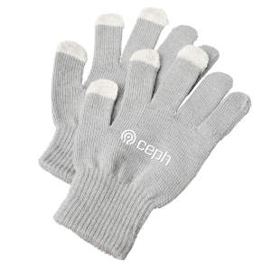 branded touch screen gloves