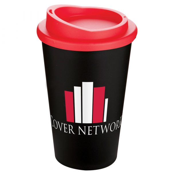 branded reusable coffee cup