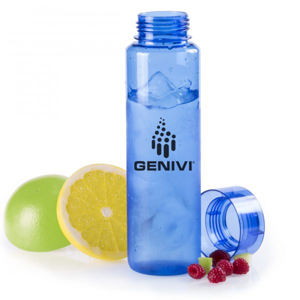 plastic drink bottle branded
