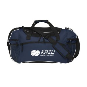 sports duffel bag printed