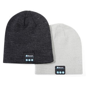 branded bluetooth beanie hat