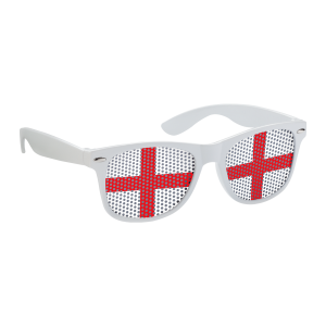 World Cup Football Flag Sunglasses England sunglasses with flag on lenses