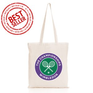 branded natural cotton tote bag
