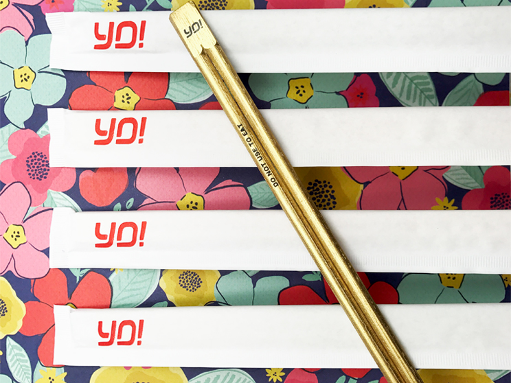 Creating Branded Chopsticks for Yo! Sushi