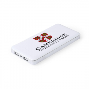 corporate power bank white