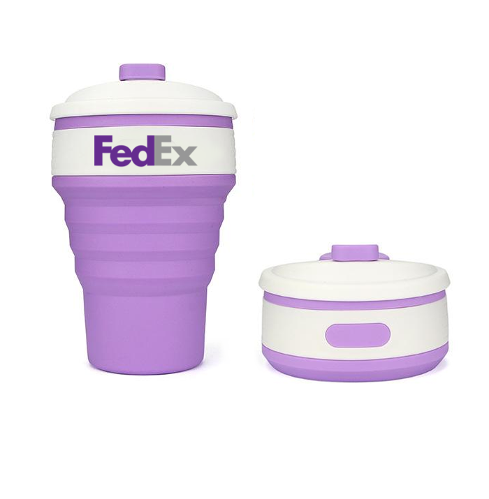 Branded Collapsible Coffee Cup