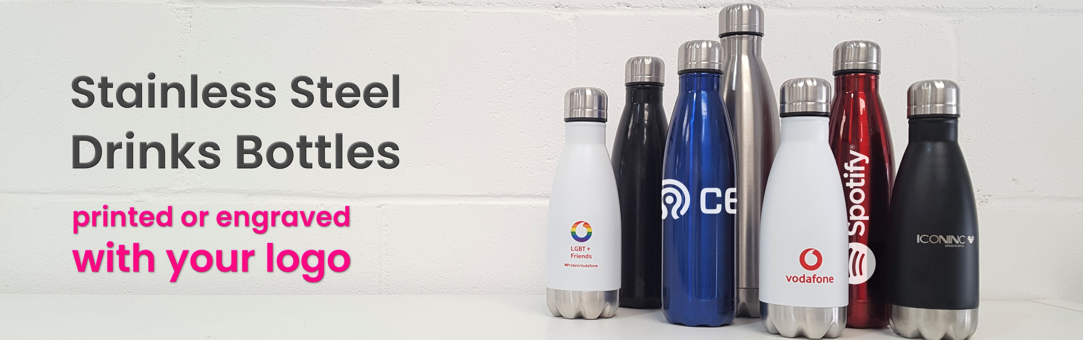 Printed Metal Water Bottles