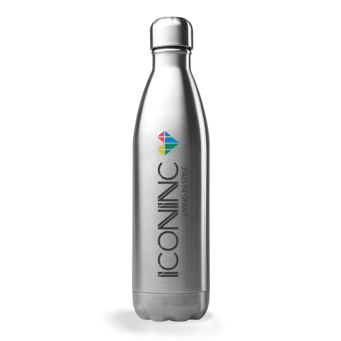700ml lucca bottle stainless steel and printed