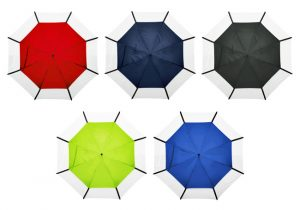 Logo Printed Golf Umbrella colour varieties