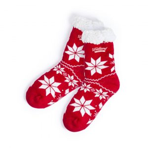 printed christmas socks