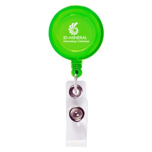 Logo Retractable Badge Holder