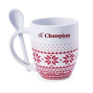 Big Sipper printed christmas mug