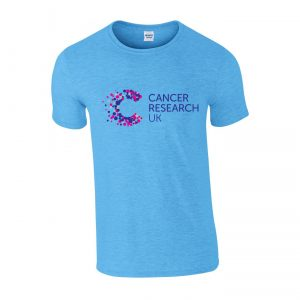 Promotional T-Shirts With Printed Logo Blue