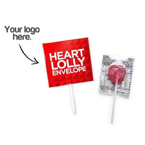 Promotional Heart Lollipop