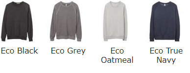 Wholesale Organic Cotton Sweatshirt