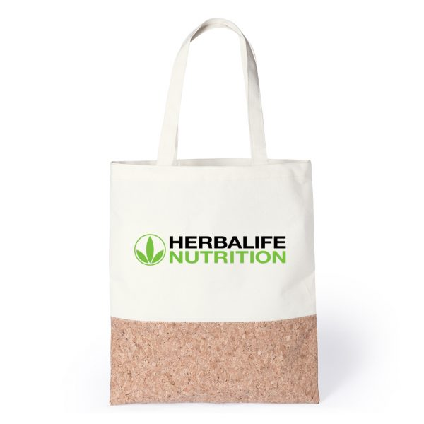 Eco-Friendly Branded Cork and Cotton Bag