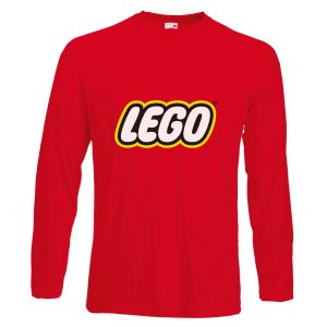 Long Sleeve Promotional T-Shirt printed with logo