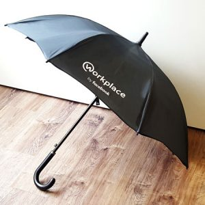 Branded swag umbrella