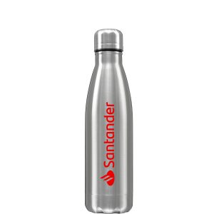 printed 500ml stainless steel water bottle