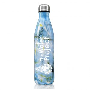 full wrap Branded Stainless Steel Water Bottle