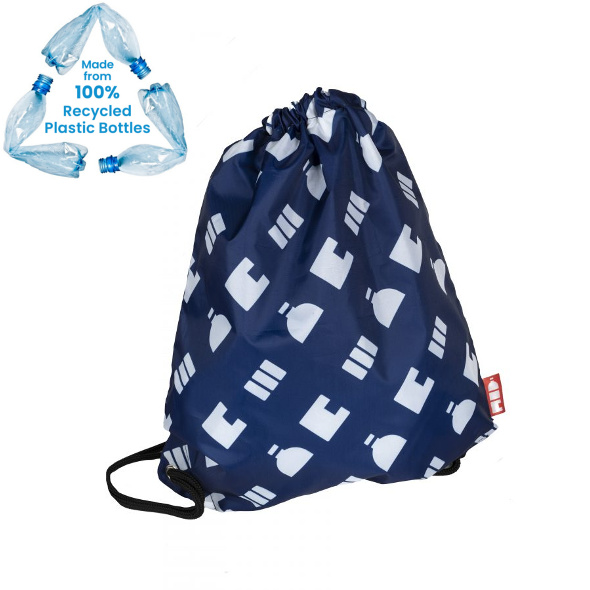 Recycled Promotional Branded Drawstring Bag