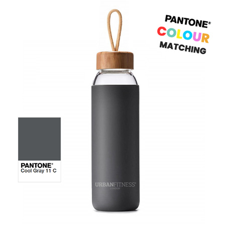 glass drinks bottle pantone matched