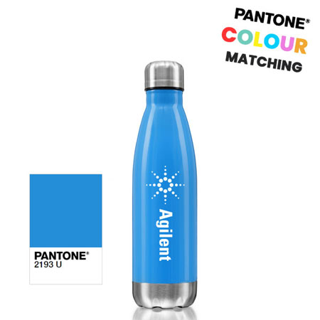 stainless steel bottle pantone matched