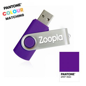 Pantone Matched Twister USB Stick