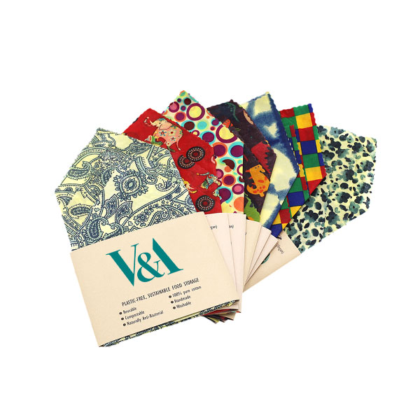branded beeswax wraps