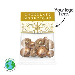 eco packaging Branded Christmas Confectionery