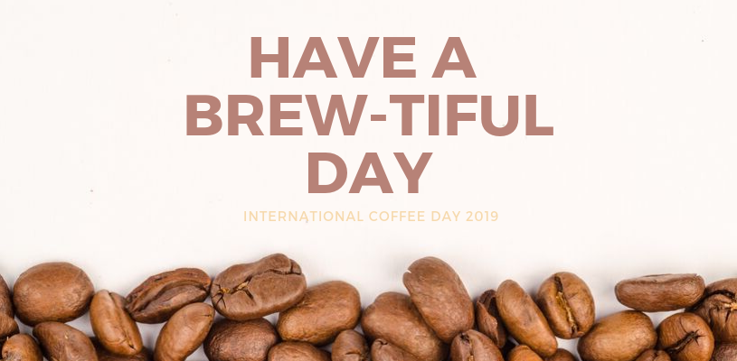 custom logo coffee cups international coffee day 2019