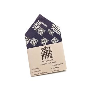 branded beeswax wraps with branded sleeve