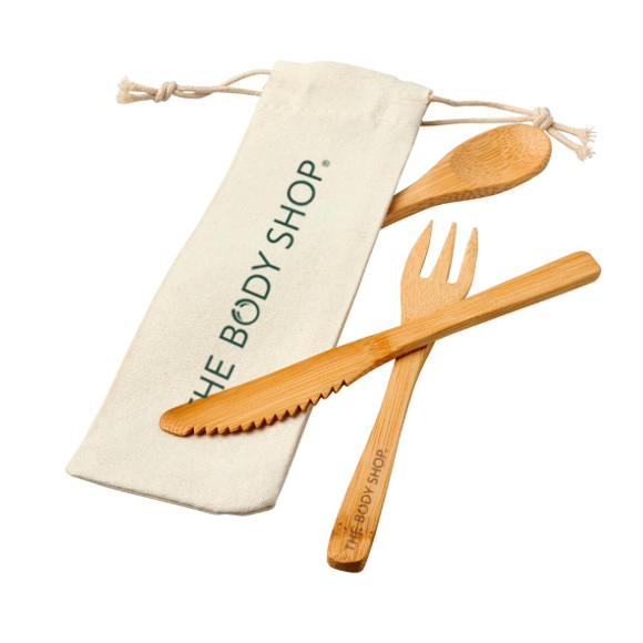Branded Reusable Cutlery with bag