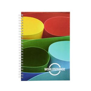 british manufactured branded notebook