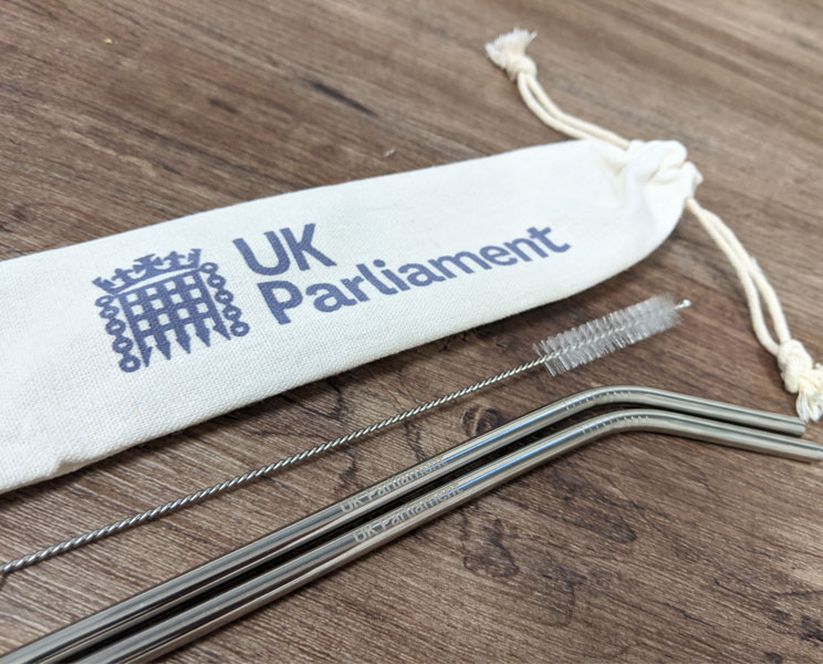 parliament shop reusable metal straws