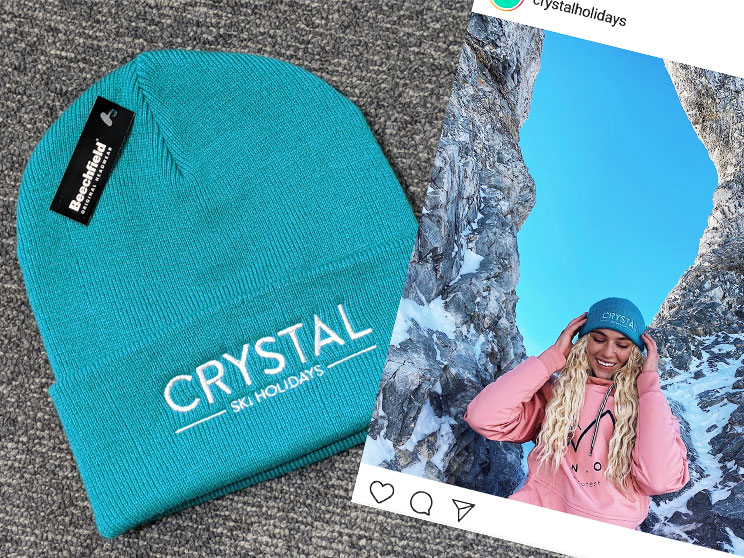 Influencer Merchandise beanie hat