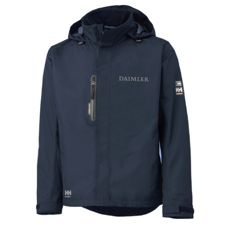 helly hansen jacket navy corporate branded