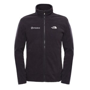 corporate branded north face fleece