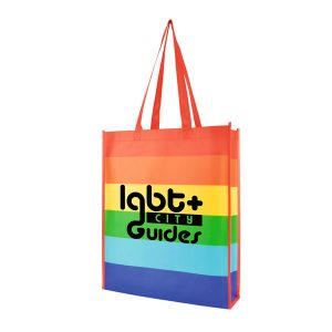 Promotional pride tote bag