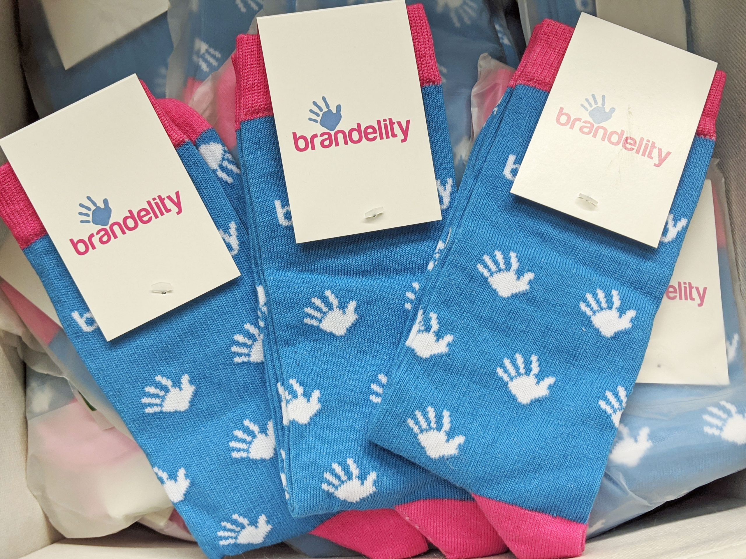 Brandelity promotional socks