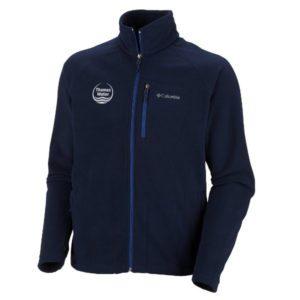 corporate columbia fleece branded