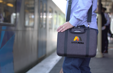company branded laptop bag