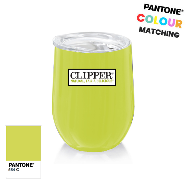 pantone matched coffee cup