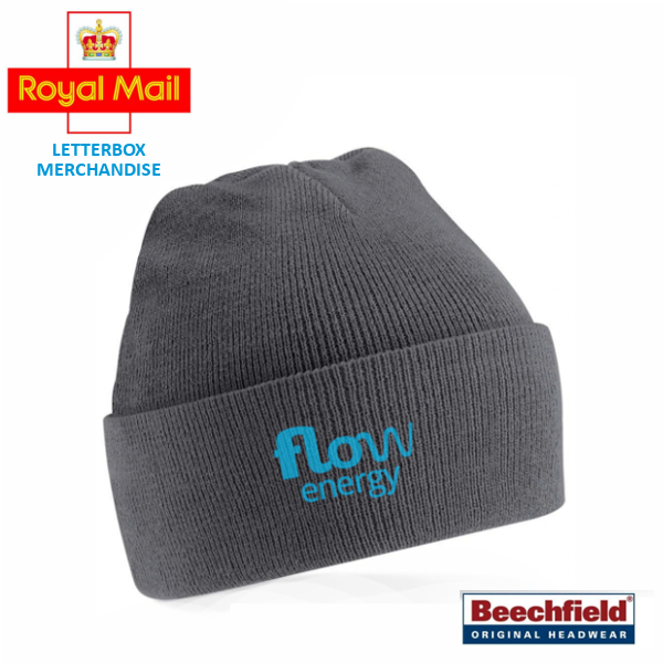 branded beanie letterbox gift