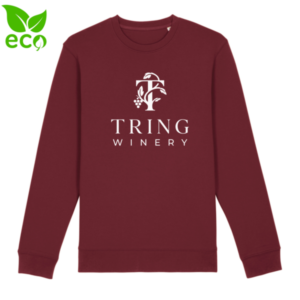 sustainable branded jumper